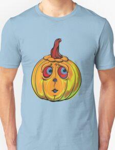 Halloween Pumpkin Cartoon Vector Unisex T-Shirt