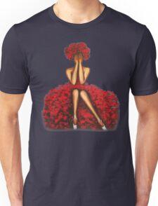 Rose girl Unisex T-Shirt