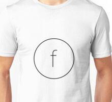 The Material Design Series - Letter F Unisex T-Shirt