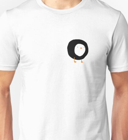 Lonely small penguin Unisex T-Shirt