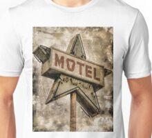 Vintage Grunge Star Motel Sign Unisex T-Shirt