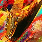 Butterfly Wings Abstract by Charldia