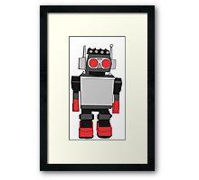 Vintage Robot Painting  Framed Print