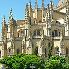 Segovia, Spain - Cathedral by Michelle Falcony