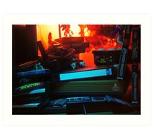 Atari 2600 - Video Games Room Art Print