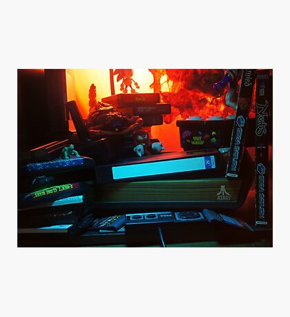 Atari 2600 - Video Games Room Photographic Print