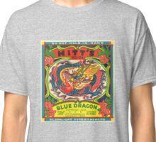 Fireworks Label - Blue Dragon Firecrackers Classic T-Shirt