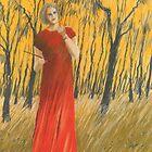 im roten Kleid by HannaAschenbach