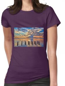 Morning Colors   Womens Fitted T-Shirt