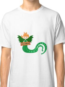 Halloween Girl with tentacles Classic T-Shirt
