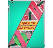Back To The Future II iPad Case/Skin