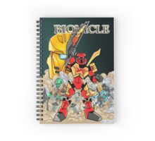 Bionicle Comic Cover 1 Spiral Notebook