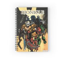 Bionicle Comic Cover 2 Spiral Notebook