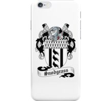 Snodgrass iPhone Case/Skin