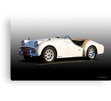 Triumph TR3A 'Supercharged' II  Canvas Print