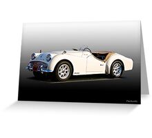 Triumph TR3A 'Supercharged' II  Greeting Card