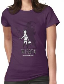 AFTER SCHOOL WARRIORS: WIZARD Womens Fitted T-Shirt
