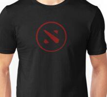 DOTA 2 - RED BUTTON Unisex T-Shirt