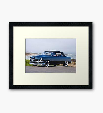 1951 Ford Convertible 'Mild Custom' Framed Print