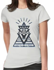 Connect With The Universe 2 - Typography and Geometry T-Shirt