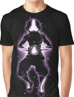 Meditating Avatar Aang Graphic T-Shirt