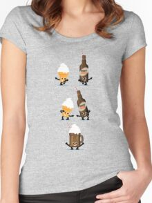 Character Fusion - Root Beer Float Women's Fitted Scoop T-Shirt