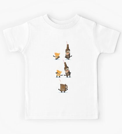 Character Fusion - Root Beer Float Kids Tee