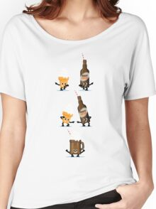 Character Fusion - Root Beer Float Women's Relaxed Fit T-Shirt