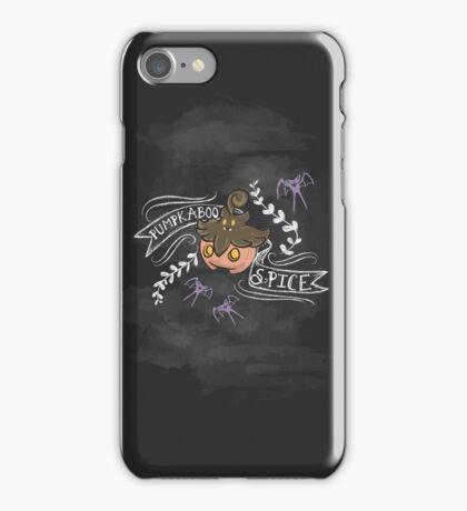 Pumpkaboo Spice  iPhone Case/Skin