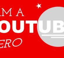 I am a YouTube Hero Sticker
