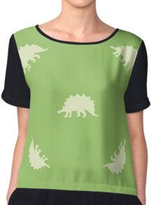 Ornament with dinosaurs Chiffon Top