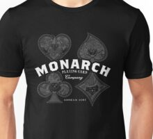 Monarch Playing Cards Unisex T-Shirt