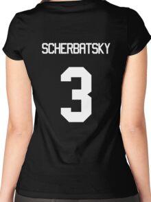 SCHERBATSKY Women's Fitted Scoop T-Shirt