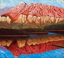 Two Jack Lake by Jude Woodland