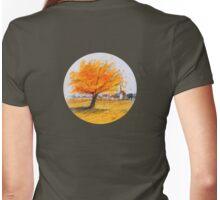 yellow-orange Womens Fitted T-Shirt