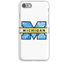 U of M logo Boho iPhone Case/Skin