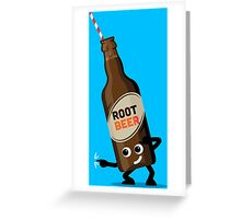 Character Fusion - Just Root Beer Greeting Card