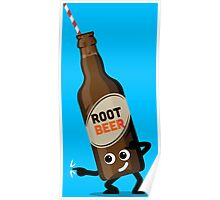 Character Fusion - Just Root Beer Poster