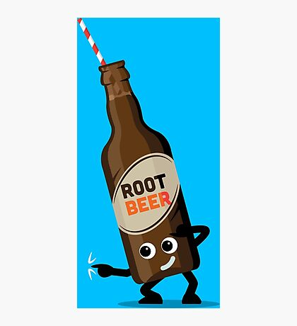 Character Fusion - Just Root Beer Photographic Print