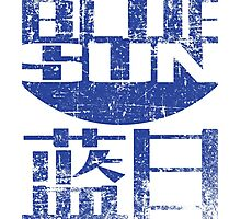 Blue Sun Photographic Print