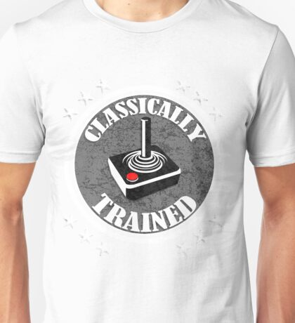 Classically Trained Retro Video Game Controller Unisex T-Shirt