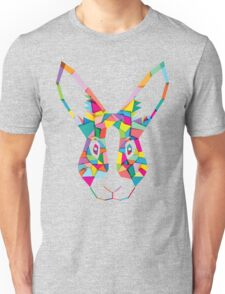 Rainbow Rabbit Unisex T-Shirt