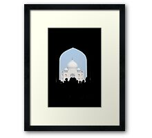 Guess Where Framed Print