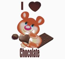 Teddy I Love chocolate  (3366  Views) by aldona