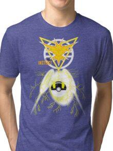 Instinct Yellow Team, Pokemon GO  Tri-blend T-Shirt