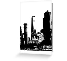 New York Towers Greeting Card