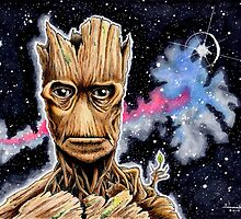 I Am Groot by circletoons