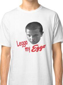 STRANGER THINGS - ELEVEN 'LEGGO MY EGGO' Classic T-Shirt