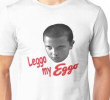 STRANGER THINGS - ELEVEN 'LEGGO MY EGGO' Unisex T-Shirt