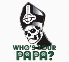 EVIL POPE EMERITUS II - WHO'S YOUR PAPA? by LadyEvil